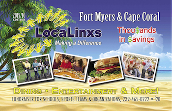 LocaLinx Fort Myers Coupon Book 2015-2016 Discounts Loyalty Club Savings